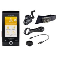 COMPTEUR SIGMA ROX GPS 12.0 Sport - White Set SIGROX12WS