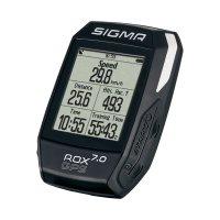 COMPTEUR SIGMA ROX 7.0 GPS BLACK SIGROX7B
