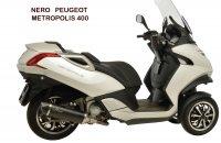 ECHAPPEMENT MAXI SCOOT NERO PEUGEOT METROPOLIS 400 SIL14019