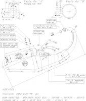 ECHAPPEMENT SCOOTER LEO TT BOOSTER/NEXT/STUNT <03 SIL4053