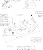 ECHAPPEMENT SCOOTER LEO TT NITRO AEROX <-99 SIL4054