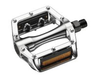 PEDALES Aluminium body silver 9/16 SP-102