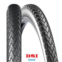 PNEU VELO DSI 700x38C (40-622) SRI-128 Full Black CONNEJO SRI128-700X38