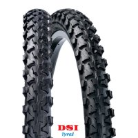PNEU VELO DSI 24x1.90 SRI-13 Full Black LEXEL SRI13-24X190