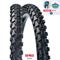 PNEU VELO DSI 24x1.90 (50-507) SRI-13 Full Black PUNCTURE PROTECTION 1,1mm LEXEL  SRI13-24X190PP