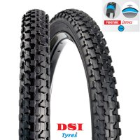 PNEU VELO DSI 26x1.75 (47-559) SRI-15 Full Black PUNCTURE PROTECTION 3mm FOI SRI15-26X175PP