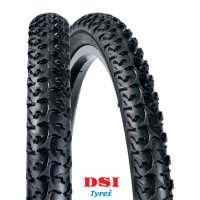 PNEU VELO DSI 26x2.00 SRI-25 Full Black LINEA SRI25-26X2