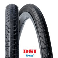 PNEU VELO DSI 700x25C SRI-41 Full Black LUCE SRI41-700X25