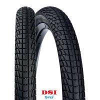 PNEU VELO DSI 20x1.90 (50-406) SRI-45A Full Black LISSER SRI45A-20X190