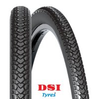 PNEU VELO DSI 700x35C SRI-52 Full Black SHOPPER SRI52-700X35