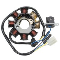 STATOR RK SCOOTER CHINOIS 50cc 4t STAT139QMB