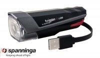 ECLAIRAGE VELO FEU AV TRIGON USB 15 Lux TRIGON15