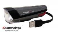 ECLAIRAGE VELO FEU AV TRIGON USB 25 Lux Ce TRIGON25