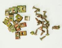 CAPOTAGE SET DE VIS M5 x 15mm + Plaques VIS51512