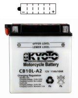 BATTERIE YB10L-A2 (CB10L.A2) YB10LA2