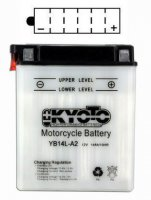 BATTERIE YB14L-A2 (CB14L-A2) YB14LA2