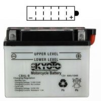 BATTERIE YB4L-B + Pack acide YB4LB