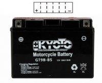 BATTERIE YT9B-BS Moto Ss Entr PK ACIDE YT9BS